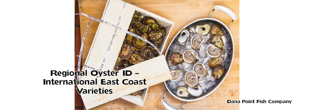 Oyster List – Atlantic Canada and France